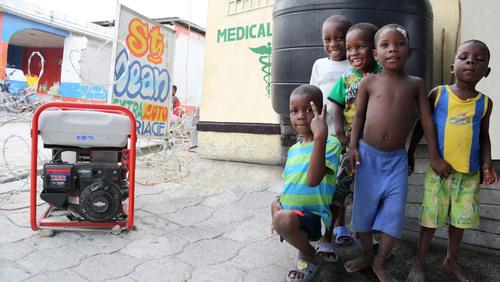 Briggs & Stratton Generates a Return to Routine in Haiti
