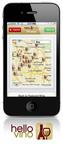 Retail locator feature within Hello Vino app.  (PRNewsFoto/Hello Vino, Inc.)