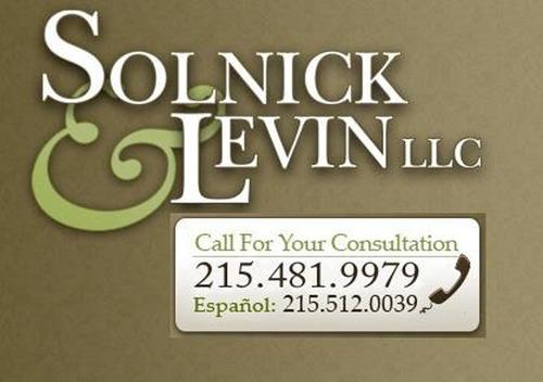 Solnick & Levin logo.  (PRNewsFoto/Solnick & Levin, LLC)