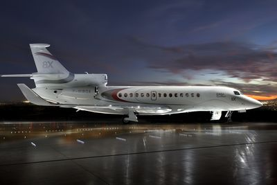 Dassault's Falcon 8X Receives EASA Certification