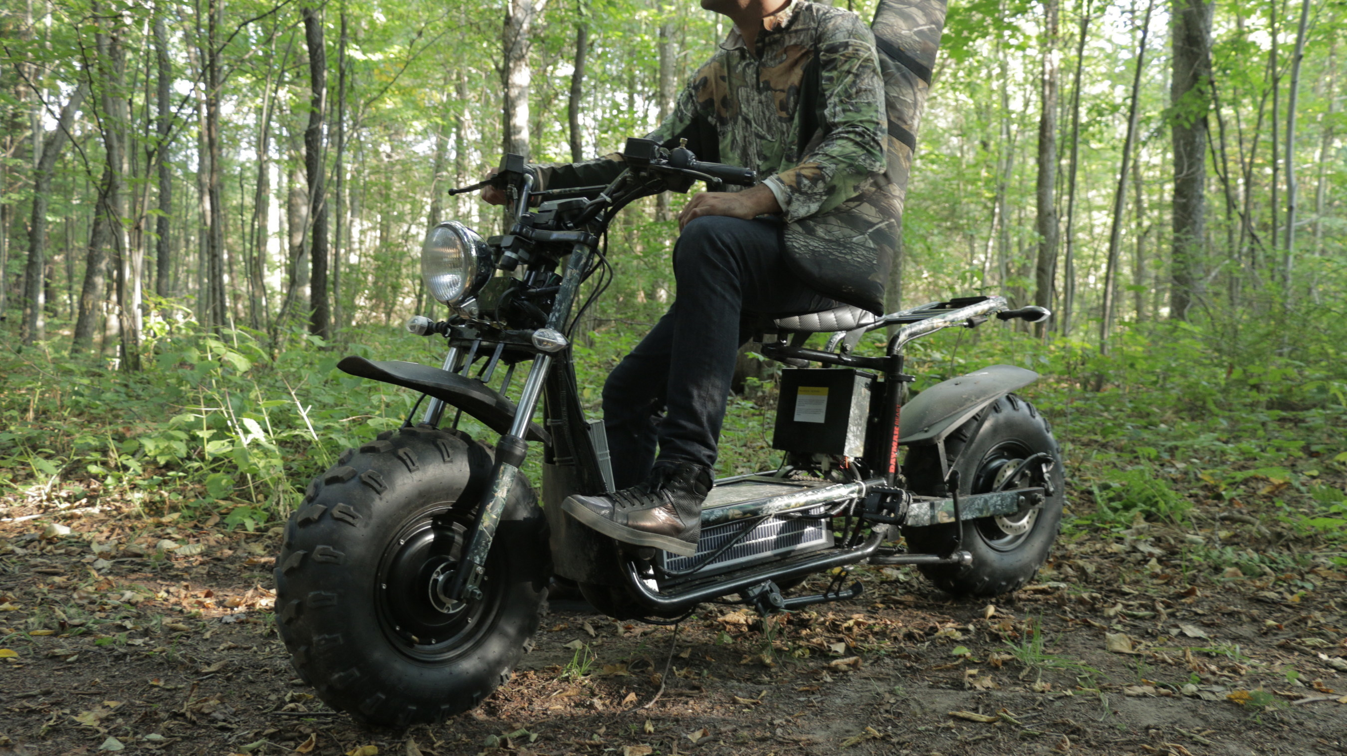 The Beast D is the silent off-road ATV