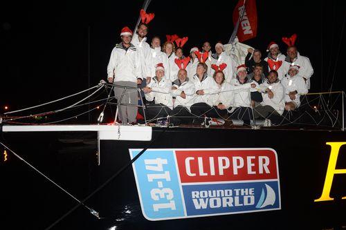 Henri Lloyd wins Race 5 to Sydney (PRNewsFoto/Clipper Ventures Plc)