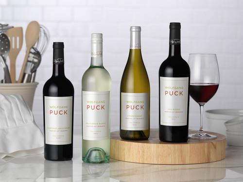 Wolfgang Puck Wines.  (PRNewsFoto/DFV Wines)