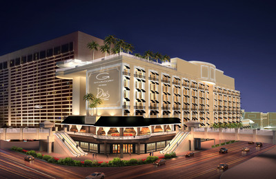 Caesars Entertainment, Gansevoort Hotel Group and Victor Drai to open boutique lifestyle hotel on the Las Vegas Strip. Gansevoort Las Vegas, a one-of-a-kind lifestyle experience, to replace Bill's Gamblin' Hall & Saloon, is set to open in early 2014.  (PRNewsFoto/Caesars Entertainment)