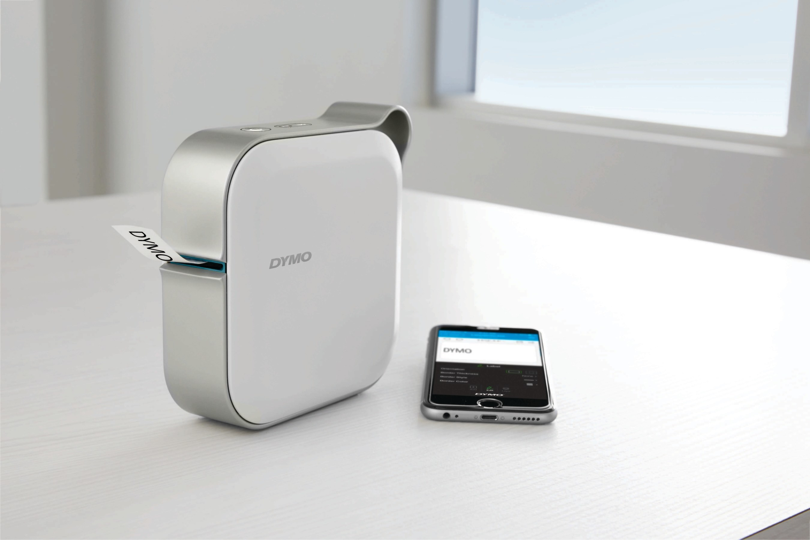 The DYMO MobileLabeler(TM) is a wireless, Bluetooth(R) compatible, personal label maker that allows users to quickly and seamlessly create professional looking labels from anywhere with a tap of their smartphone.