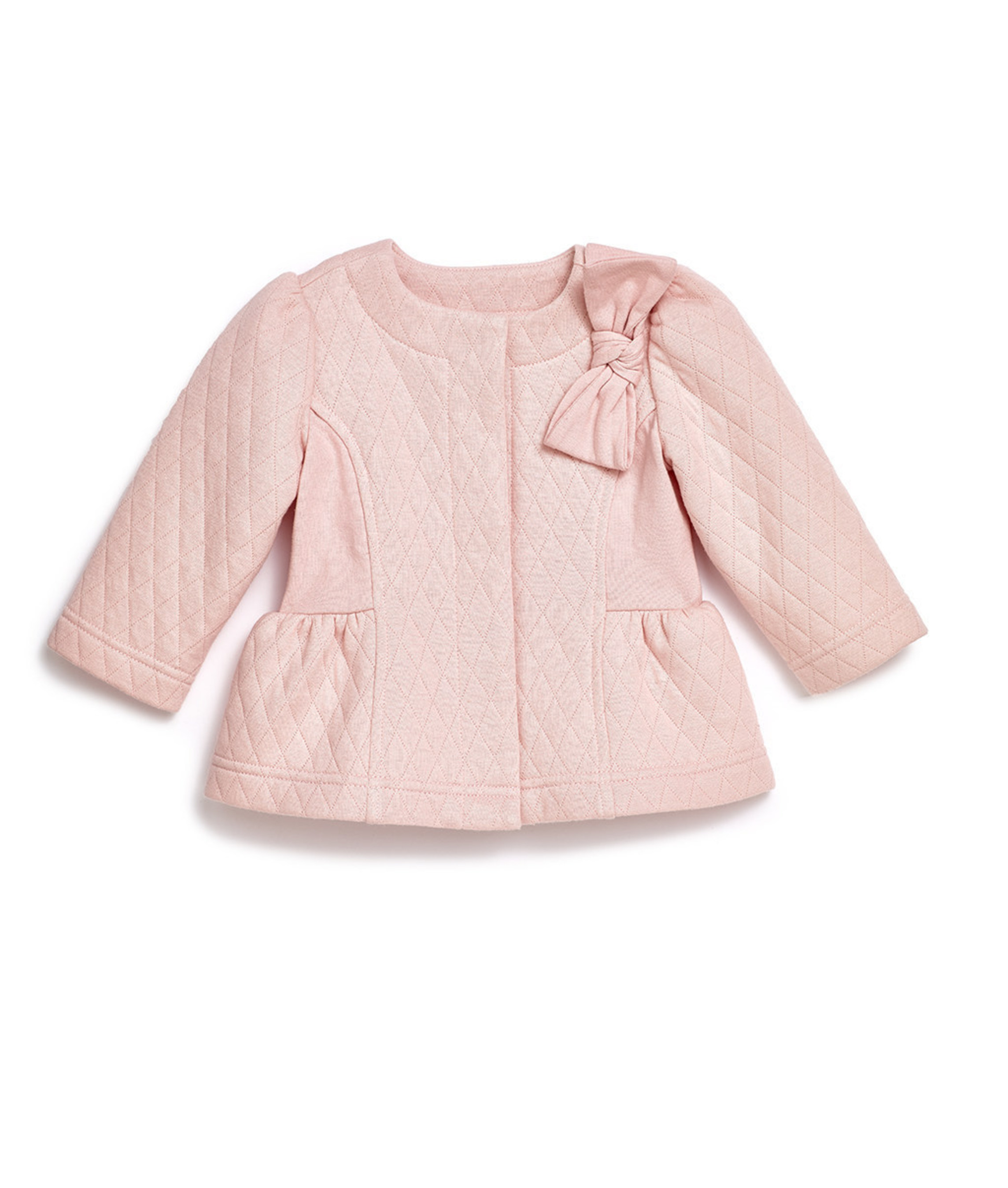 Girls Pink Quilted Jacket - T.J.Maxx