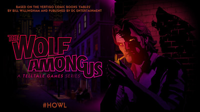 'The Wolf Among Us' Game Series Revealed by Telltale Games Based on the Vertigo Comic Books 'FABLES' by Bill Willingham and Published by DC Entertainment. (PRNewsFoto/Telltale, Inc.) (PRNewsFoto/TELLTALE, INC.)