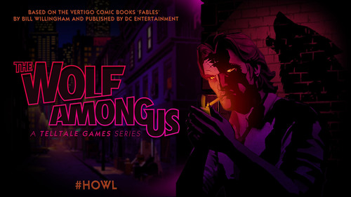 'The Wolf Among Us' Game Series Revealed by Telltale Games Based on the Vertigo Comic Books 'FABLES' by Bill Willingham and Published by DC Entertainment.  (PRNewsFoto/Telltale, Inc.)
