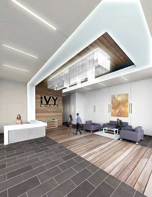 The Ivy Lofts Lobby