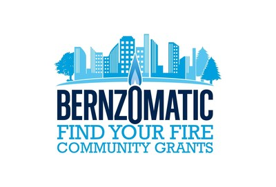"Bernzomatic ""Find Your Fire"" Community Grants Program Logo"