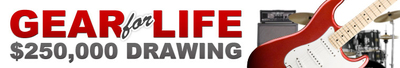 zZounds is now accepting signups to win its $250,000 Gear for Life drawing.  (PRNewsFoto/zZounds Music, LLC)