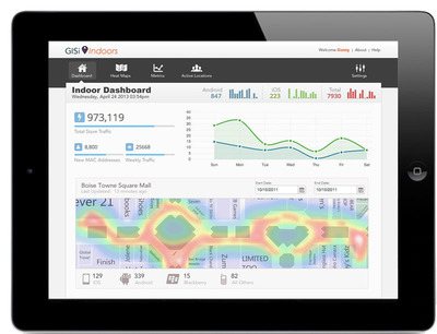 Esri, along with partners GISi and Infsoft, are creating analysis tools for in-building mapping.  (PRNewsFoto/Esri)