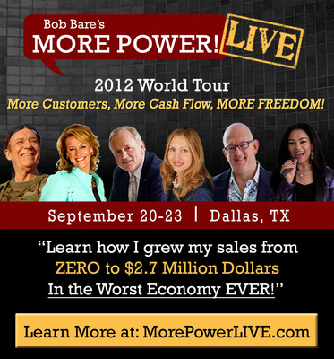 World-Renowned Business Experts and Authors Share Strategies to Grow Your Business Sept. 20-23 at More Power! Live Conference in Downtown Dallas