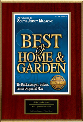 "Gill's Landscaping Selected For ""Best Of Home & Garden"".  (PRNewsFoto/Gill's Landscaping)"