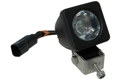 Ultra compact, high powered LED infrared emitter light projecting an infrared beam 225 feet long and 25 feet wide as a Spotlight; and an infrared beam 45 feet long by 40 feet wide as a Floodlight. Offered in 850nm or 940nm, this IR LED light includes a high powered 3 Watt LED emitter potted into an aircraft grade aluminum chassis that is designed to protect the LED and dissipate heat.  Even after running for a several hours, the lenses are only mildly warm.  (PRNewsFoto/Larson Electronics)