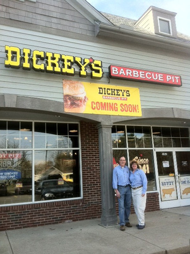 Dickey's opens on Thursday in Commerce Township, Michigan.  (PRNewsFoto/Dickey's Barbecue)