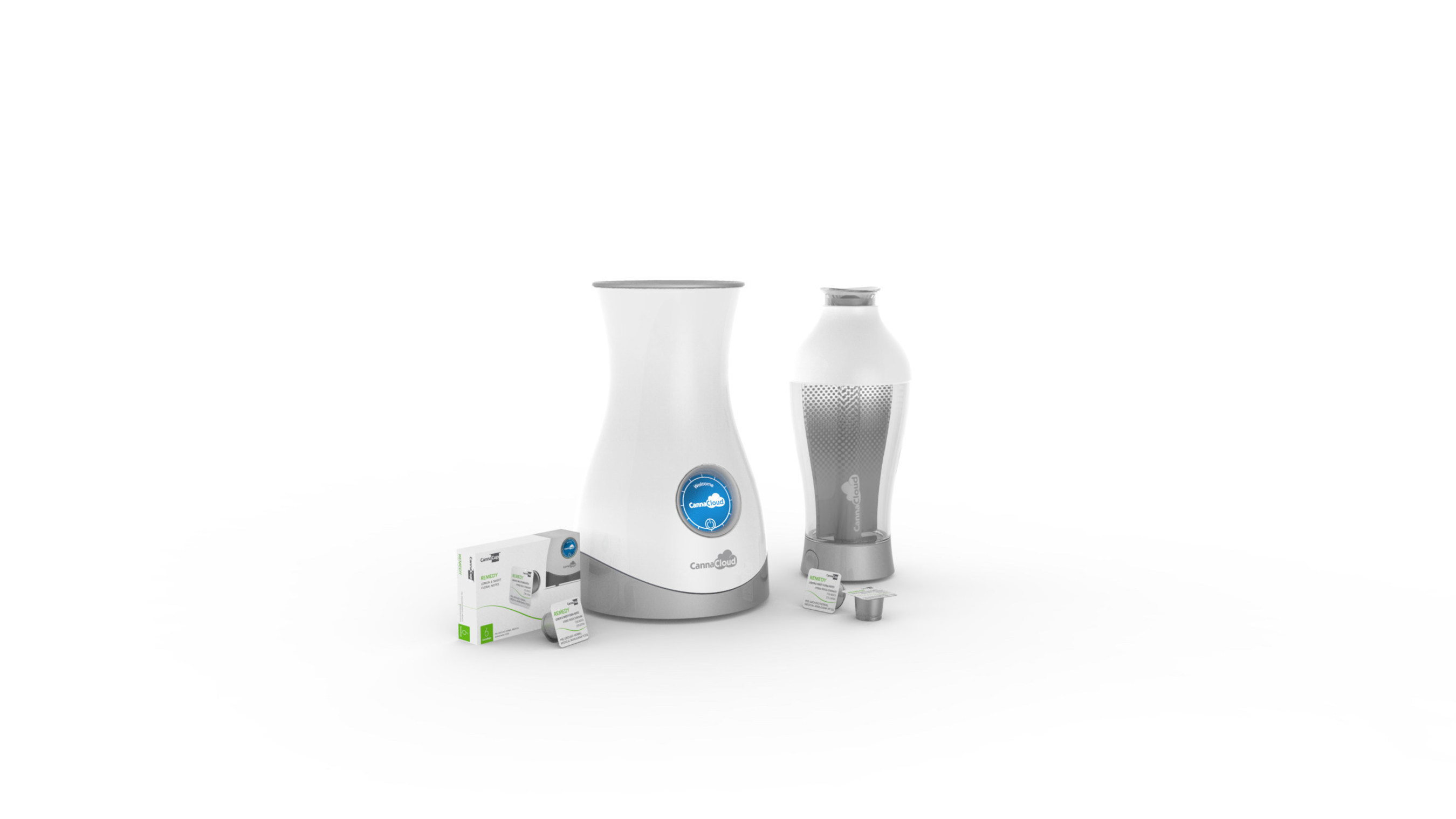 CannaKorp Inc. a Boston based start-up announced today the worlds first single-use pod based medical marijuana vaporizer system, the CannaCloud, at the Marijuana Business Expo. A true disruptive technology that is taking the lead in this rapidly growing industry and addressing consumer medical needs. The patient simply inserts a CannaCup into the CannaCloud base and in less than 60 seconds high quality vapor is produced. The CannaCloud $149.99 and CannaCup $9.99 available Fall 2016.
