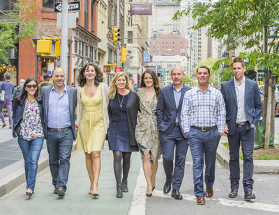 Sudler New York leadership team (L to R): Jean Christenson, Allen Singer, Megan Robinson, Jennifer Boehmer, Diane Vinch, Guy Desimini, John Marchese, Chris Duffey