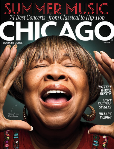 July 2014 issue of Chicago magazine. (PRNewsFoto/Chicago magazine)