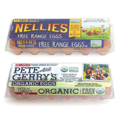 Pete and Gerry's Organic Eggs and Nellie's Free Range Eggs