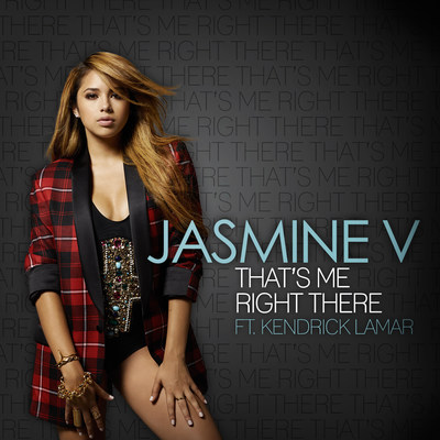 "JASMINE V DEBUTS ""THAT'S ME RIGHT THERE"" FEATURING KENDRICK LAMAR ON AUGUST 5   (PRNewsFoto/Interscope Records)"