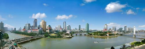 Confluence of Yaojiang River, Fenghuajiang River and Yongjiang River (PRNewsFoto/Ningbo Tourism Bureau)