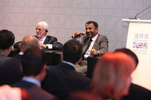 Ibrahim Aljanahi, Deputy CEO of Jafza and Chief Commercial Officer at the event. (PRNewsFoto/Jafza)