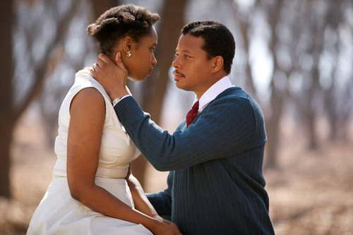"Jennifer Hudson and Terrence Howard star in ""Winnie Mandela,"" slated to be screened at the first-ever International Faith & Family Film Festival in Dallas, Texas, August 29-31, during Bishop T.D. Jakes' MegaFest. Photo courtesy Image Entertainment. Mega-fest.com/filmfestival for more information.  (PRNewsFoto/MegaFest, Image Entertainment)"