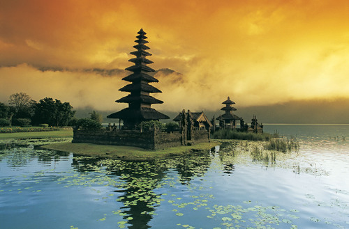 Bali, Indonesia, where Crystal sails on two Getaways in 2014.  (PRNewsFoto/Crystal Cruises)