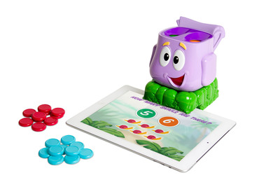 DISCOVERY BAY GAMES ADDS DORA THE EXPLORER 'LET'S PLAY BACKPACK' TO LINE OF DUO GAME ACCESSORIES FOR iPAD.  (PRNewsFoto/Discovery Bay Games)
