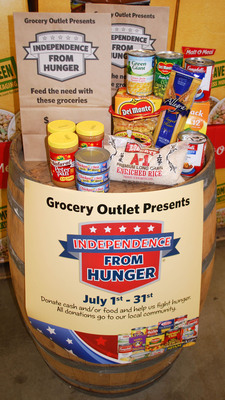 Grocery Outlet Once Again Helps Feed People Facing Hunger