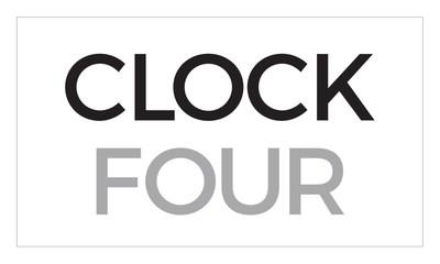 Clock Four Logo
