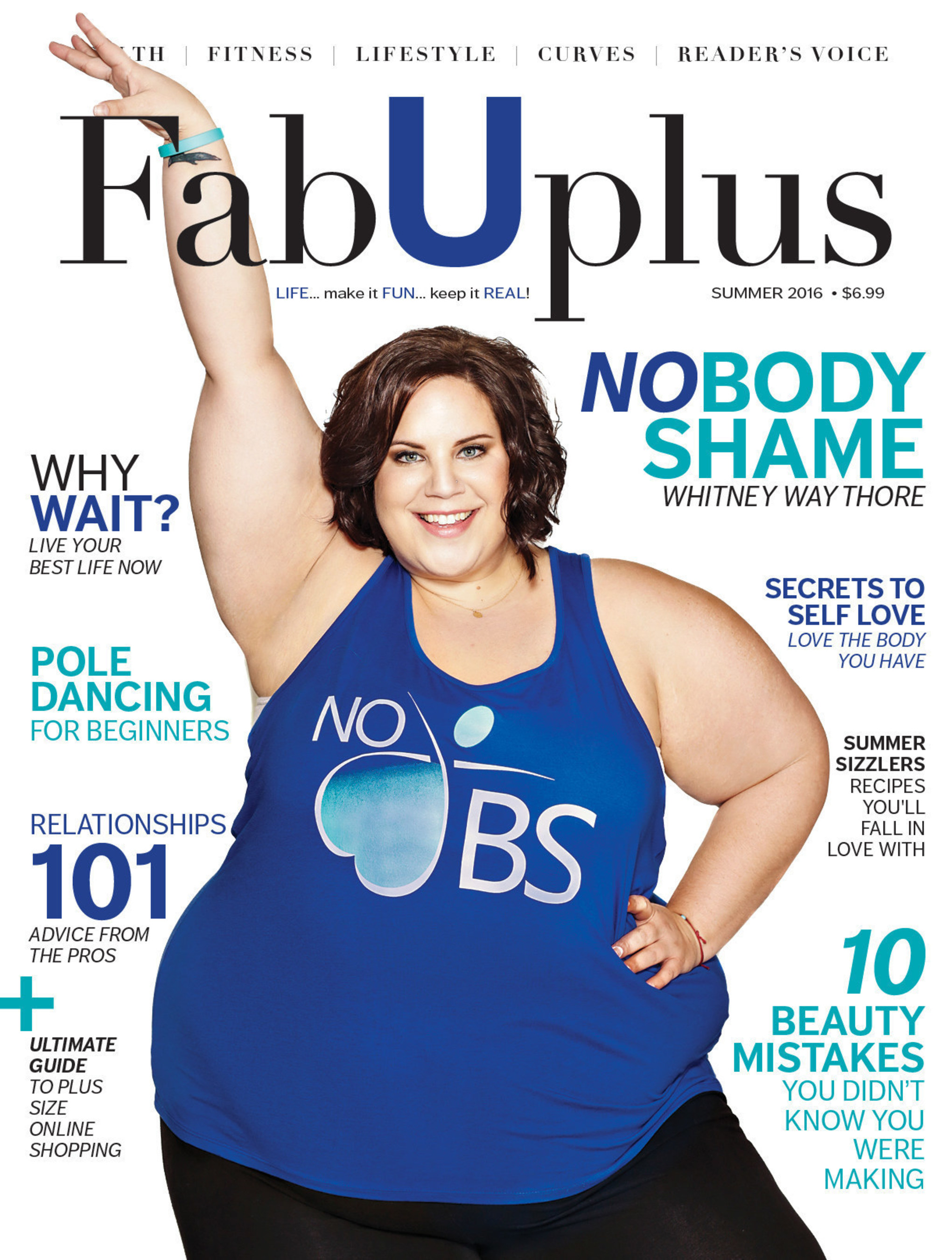 North America's Ground Breaking Plus Sized Health, Fitness & Lifestyle Magazine Is Now Here