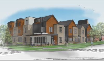 Rendering of Attention Homes development