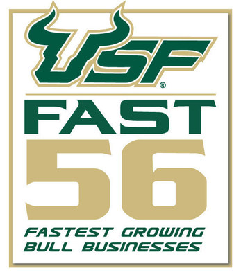 Leverage Digital Honored as Top 25 2016 University of South Florida Fast 56 Award Recipient