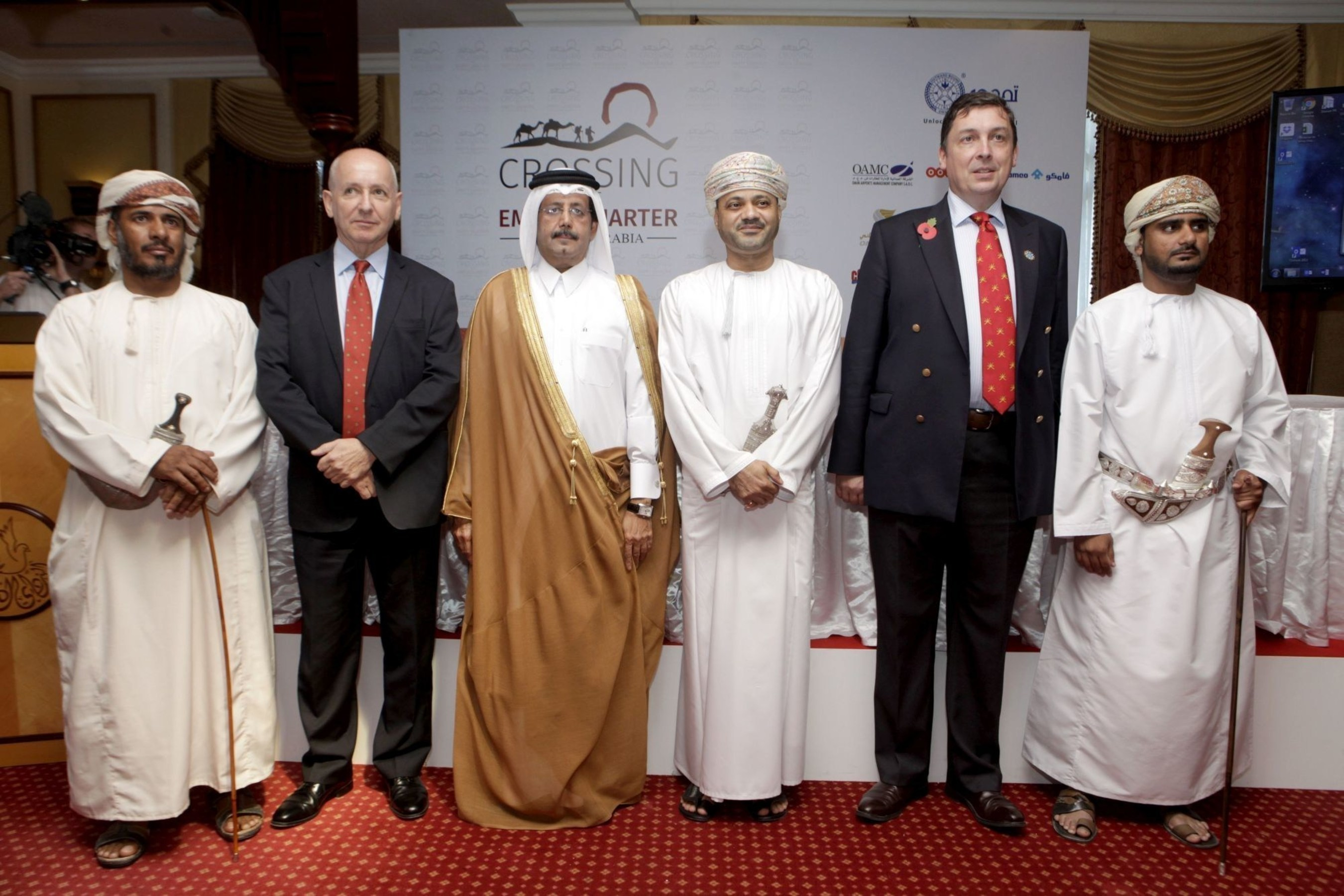 Thuraya Supports Crossing of the Empty Quarter Expedition