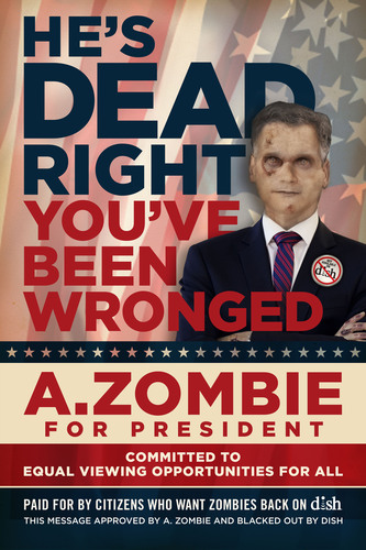 A. Zombie Enters the 2012 Presidential Race