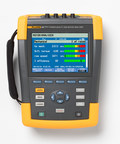 The Fluke 438-II simplifies the process of motor performance diagnosis by providing analysis data for both the electrical and mechanical characteristics of the motor while it is in operation.