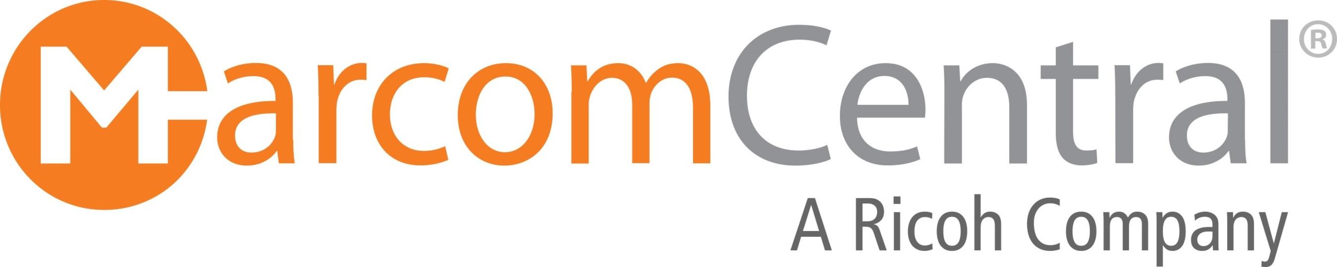 New MarcomCentral logo. (PRNewsFoto/MarcomCentral)