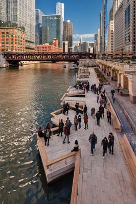 The Jetty, Chicago Riverwalk