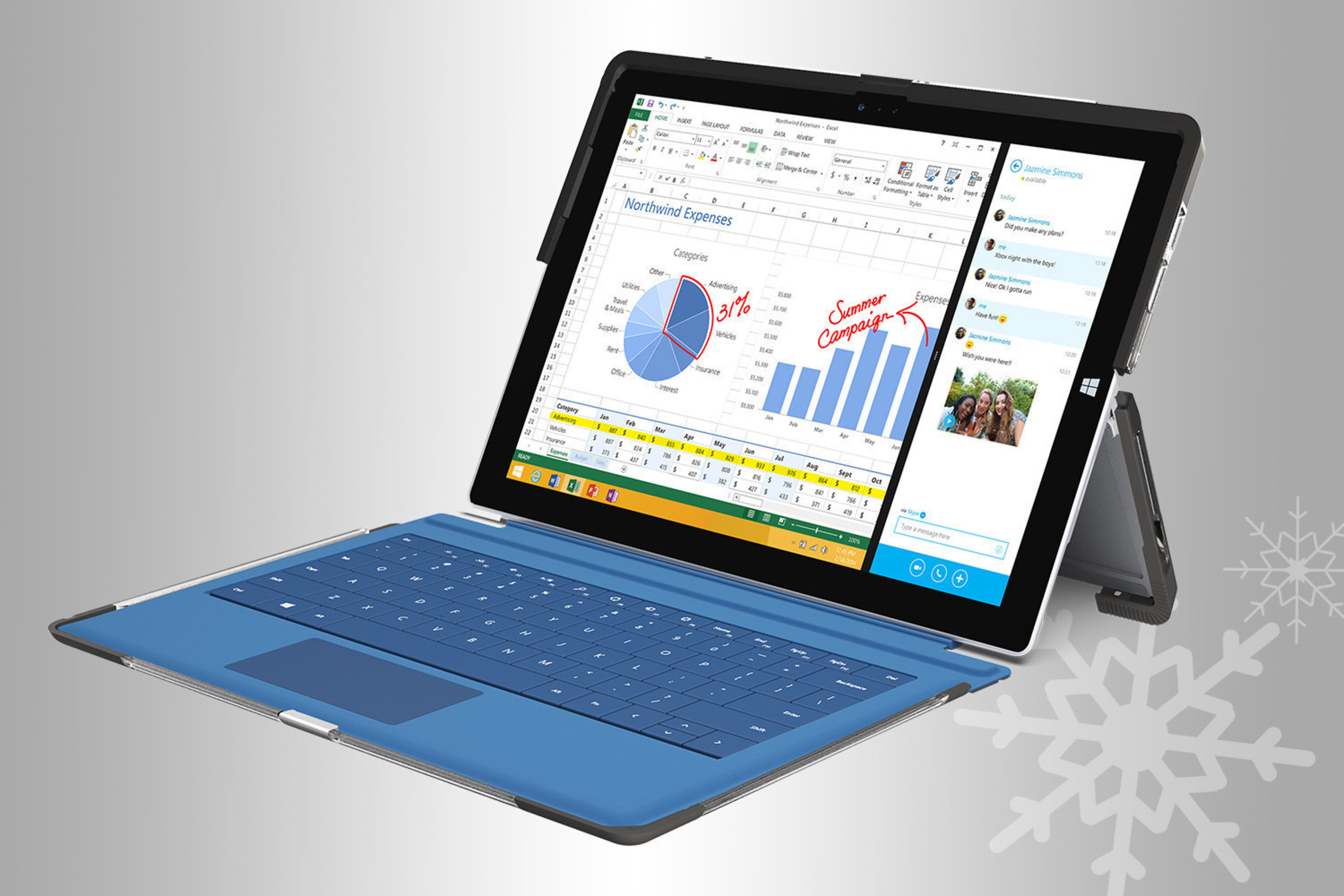 Microsoft tablet lovers can rejoice with Symmetry Series for Surface Pro 3 available now.