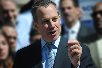 New York Attorney General Eric T. Schneiderman (PRNewsFoto/NYAG)