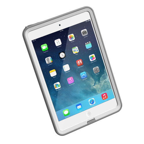 LifeProof fre fully encases the iPad mini with Retina display and contains a thin, transparent film over the display that seals against water, dirt and dust while still allowing users full interaction with the touch screen. The LifeProof fre is available in black and white for $99.99 and at www.lifeproof.com and select retailers. The LifeProof Total Water Protection Program is available at the time of purchase at www.lifeproof.com. (PRNewsFoto/LifeProof) (PRNewsFoto/LIFEPROOF)