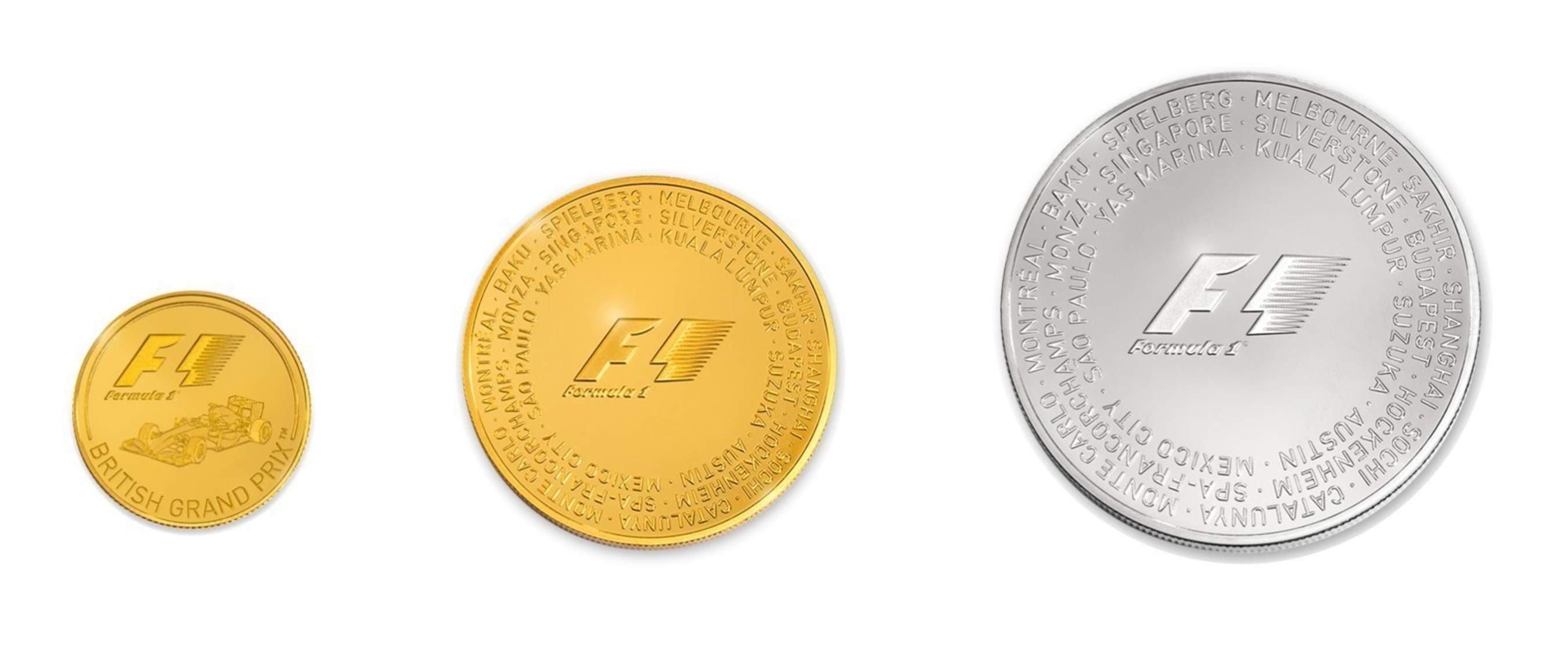 Rosland Capital Announces Global Distribution of Official Formula 1(R) Gold and Silver Coin Collection