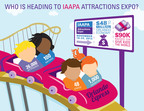 IAAPA Attractions Expo 2013 is open now through Nov. 22 in Orlando; here's a snapshot of who attends the largest annual gathering of the $24 billion global theme park and attractions industry. Image via IAAPA.org at http://bit.ly/1eqbh5F.  (PRNewsFoto/International Association of Amusement Parks and Attractions)
