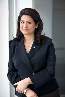 Nandita Bakhshi.  (PRNewsFoto/TD Bank)