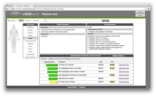 ACR Select Imaging Decision Support (PRNewsFoto/National Decision Support Compan)