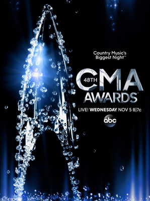 "Final nominees for ""The 48th Annual CMA Awards"" will be revealed by Little Big Town and Darius Rucker live on ""Good Morning America"" Wednesday, Sept. 3. (PRNewsFoto/Country Music Association)"