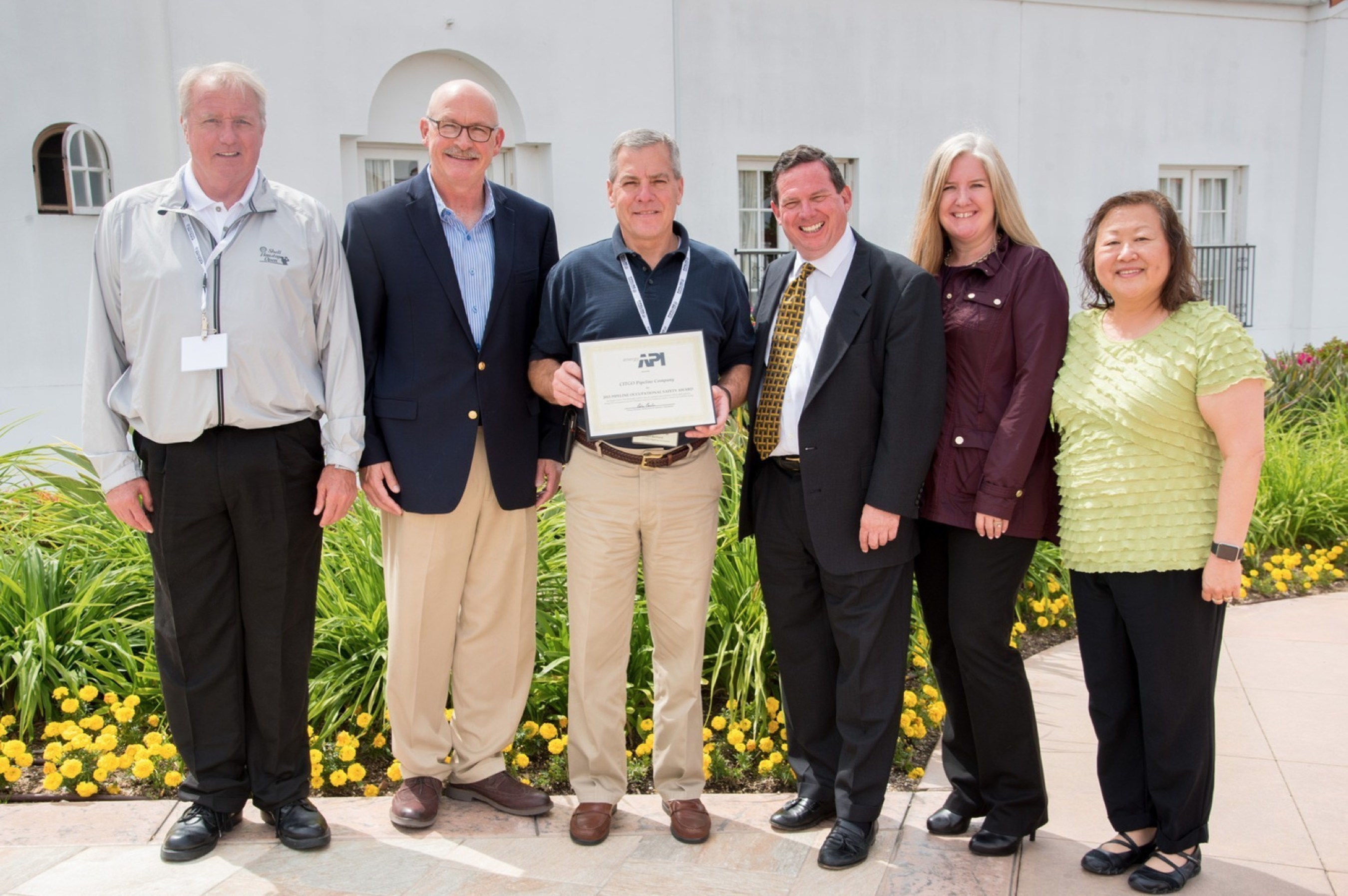 CITGO Recognized with API Pipeline Occupational Safety Award for 7th Year in a Row