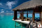 The Suite Escapes grand prize includes seven nights at the Conrad Maldives Rangali Island Resort.  (PRNewsFoto/hotels.com)